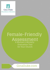 Women's Ministry Assessment Tool
