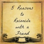 5 Reasons to reconcile