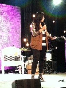 Lysa Terkeurst is the master of words!  That's all I've got to say - her sessions were very helpful.  Her love for Jesus was so evident.  I really appreciate her!