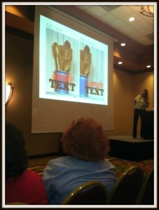 This is at my Pinterest Pin class where Ruth Soukup from LivingWellSpendingLess.com shares how to make attractive pins.