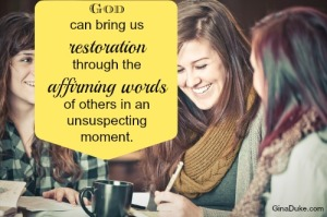 Affirming Words, Restoration