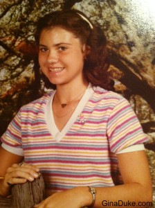 This is me in middle school as a 7th grader.