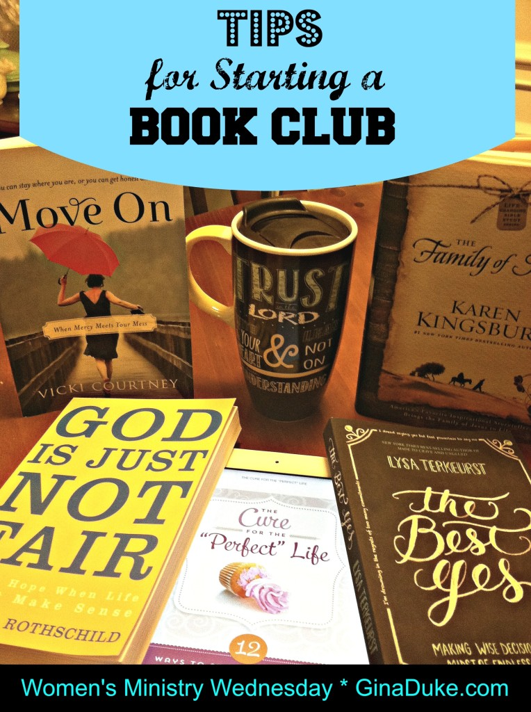 women's ministry, book club