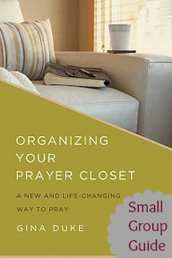 prayer journal, group study, small group guide, prayer closet