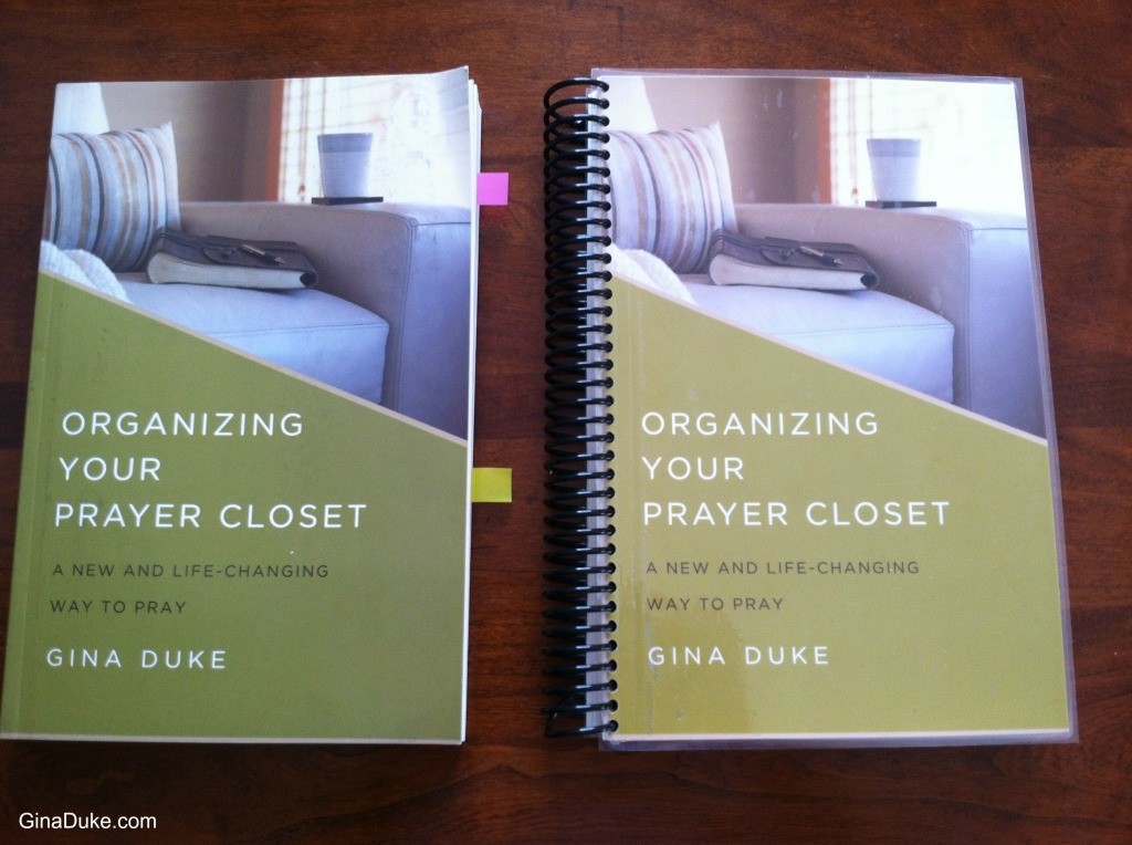 prayer journal, prayer closet, structured prayer journal