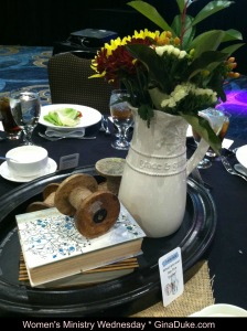 Women's Ministry, centerpieces, event