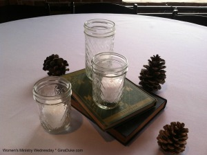 centerpieces, women's ministry, events