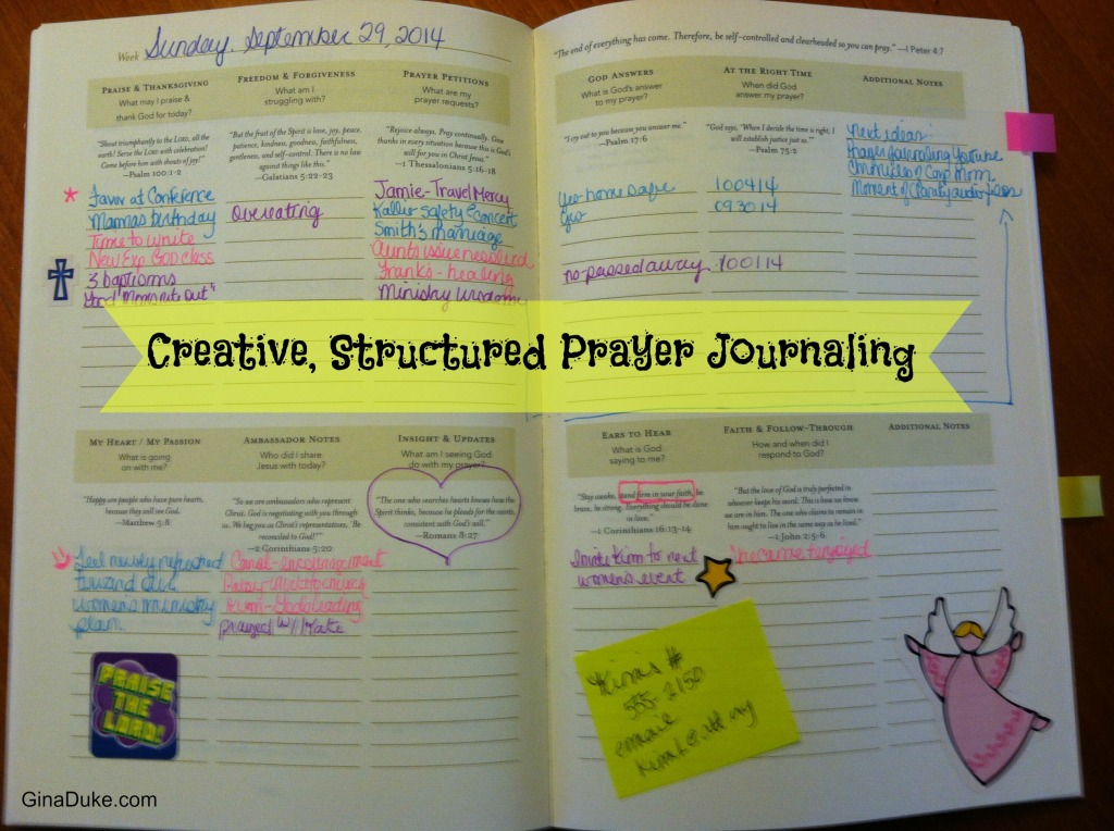 Prayer Journaling, Prayer Closet