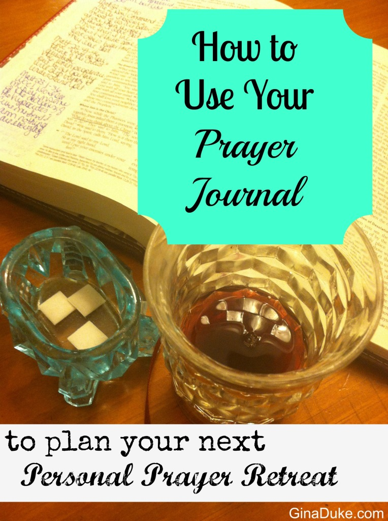 Prayer Journal, Prayer Retreat, Prayer Closet