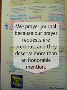 prayer journal, prayer closet, prayer journaling