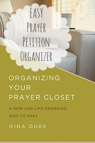 Prayer Request Organizer, Prayer Closet, Prayer Journal,