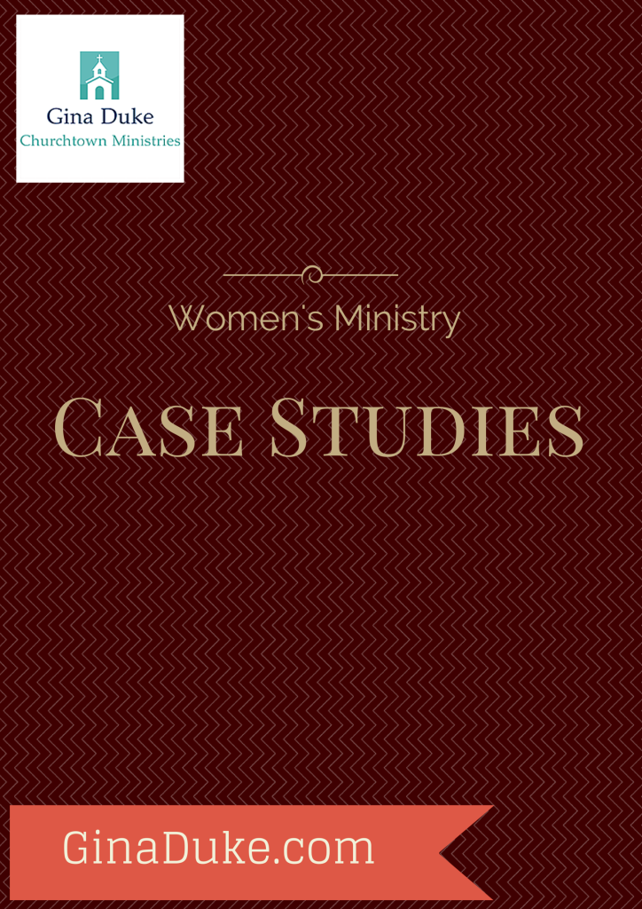 Women's Ministry Case Studies