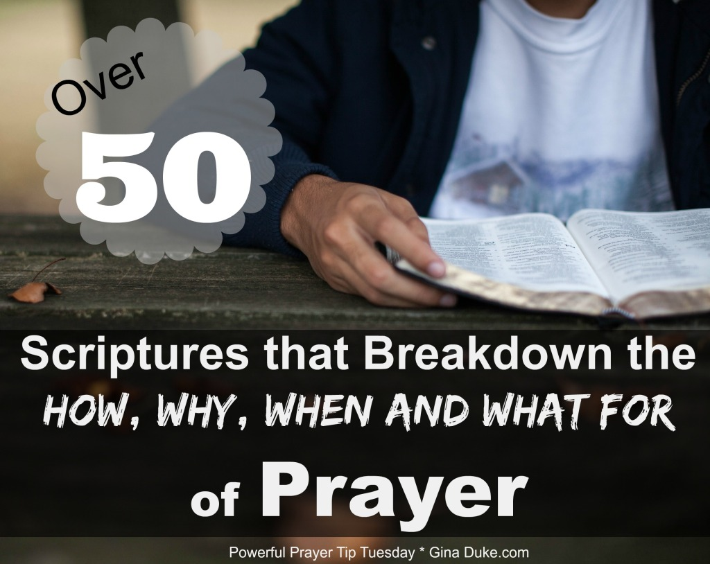 Scriptures about Prayer, How to Pray, When we Pray, Why we Pray, What we supposed to pray for