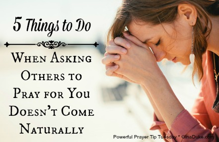 prayer tip, ask for prayer