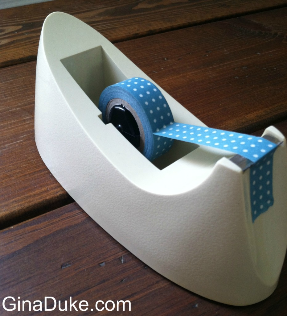 Tape Dispenser, Washi Tape, Prayer Journaling