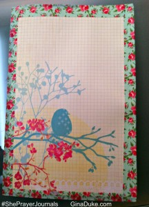 Prayer Journal covers, Prayer journals
