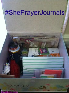 prayer journal box