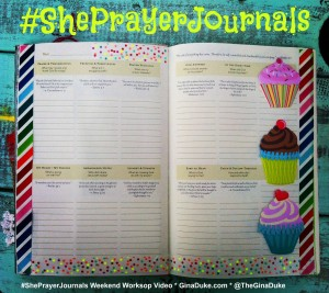 Prayer Journal, Cupcakes