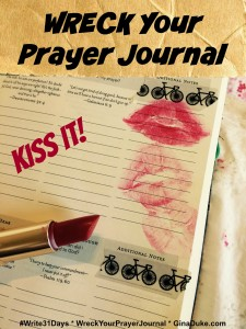 prayer closet, prayer journal, wreck this journal, war room prayer strategy