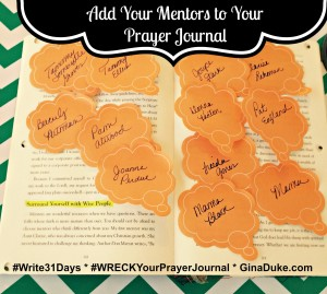 Wreck this journal ideas, prayer journaling prompts, war room prayer strategy, prayer closet setup, godly mentors