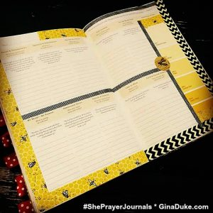 Prayer journal setup, junk journal