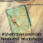 prayer journals, prayer closet, war room movie, list making, rank and file, junk journal