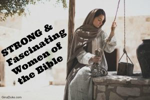 women of the Bible, Judges 1, the woman at the well